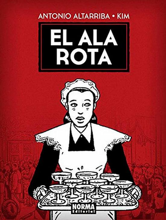 Premios Splash 2016. Mejor Novela Gráfica Nacional: ``El Ala Rota`` de A. Altarriba y Kim.